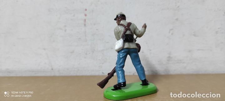 Figuras de Goma y PVC: Figuras btitains american civil war 1861-1865 nordistas confederados - Foto 2 - 242051445