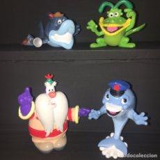 Figuras de Goma y PVC: DELFY LOTE 4 PERSONAJES PVC CÓMIC SPAIN. Lote 277287908