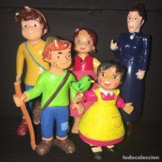 Figuras de Borracha e PVC: LOTE HEIDI PEDRO,ROTTENMEIER. Lote 242216475
