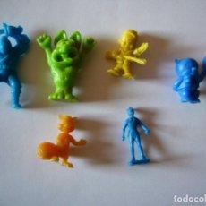 Figuras de Borracha e PVC: LOTE PEQUEÑAS FIGURITAS TIPO DUNKIN. Lote 242381540