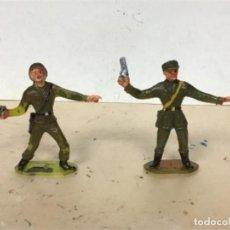 Figuras de Goma y PVC: FIGURA MILITAR COMANSI ESPAÑOLES AMERICANOS SOLDADOS MUNDO NO PECH JECSAN LAFREDO. Lote 242427165