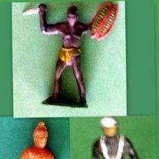 Figuras de Goma y PVC: FIGURAS Y SOLDADITOS DE DIFERENTES CTMS - 13396. Lote 242442825