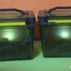 Figuras de Goma y PVC: LOTE 2 BAÚLES CON LUZ , VER FOTOS. Lote 242468485