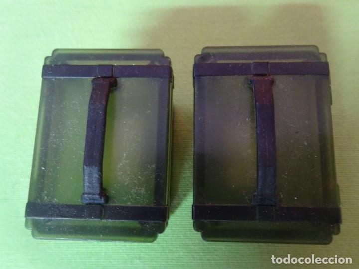 Figuras de Goma y PVC: LOTE 2 BAÚLES CON LUZ , VER FOTOS - Foto 6 - 242468485