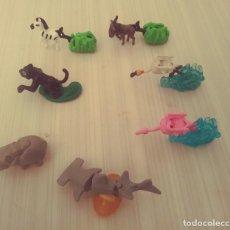 Figuras Kinder: 7 FIGURAS ANIMALES DE KINDER -SORRESA. Lote 242829895