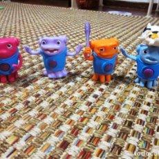 Figuras de Goma y PVC: LOTE 4 FIGURAS EXTRATERRESTRES HOME MCDONALD´S. AÑO 2015. Lote 68609417