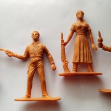 Figuras de Borracha e PVC: LOTE OESTE COMANSI CHAPARRAL. Lote 242971785
