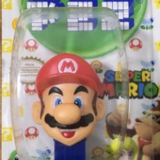 Dispensador Pez: CAREMELOS PEZ - SUPER MARIO. Lote 243017520