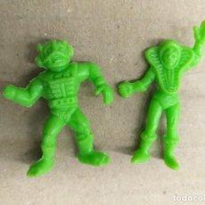 Figuras de Goma y PVC: LOTE 2 FIGURA TIPO DUNKIN MASTERS DEL UNIVERSO ZODAK TEELA PHOSKITOS CROPAN PANRICO LEER DESCRIPCION. Lote 243068830