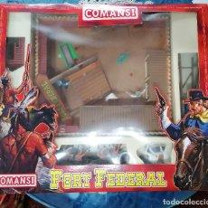 Figuras de Goma y PVC: COMANSI- FUERTE FORT FEDERAL-TAMAÑO GRANDE -AÑOS 80-90. Lote 243149205