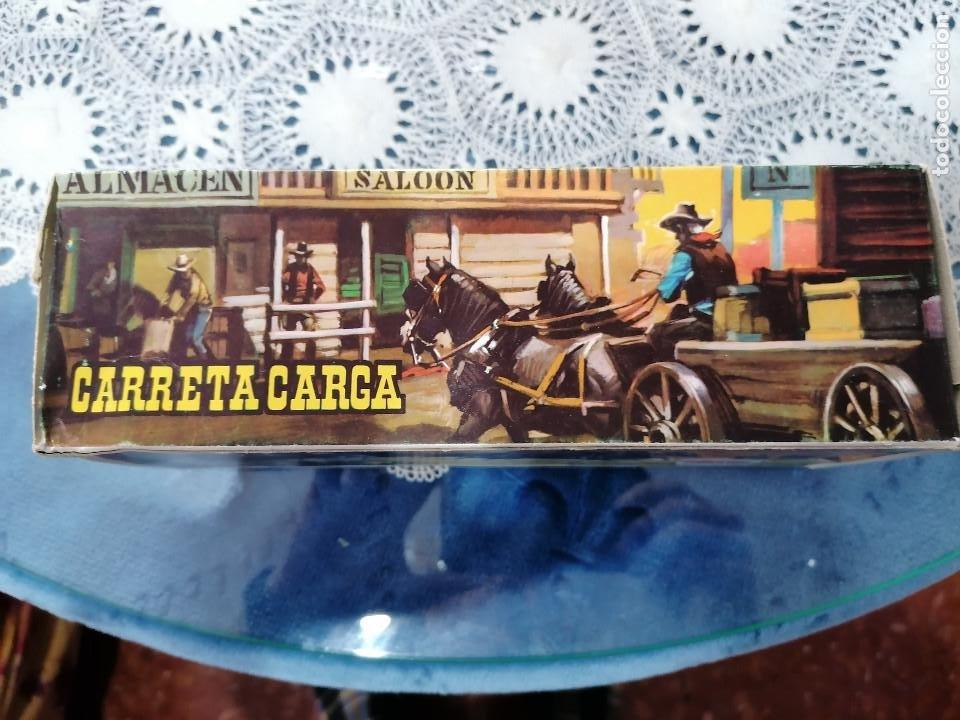 Figuras de Goma y PVC: COMANSI CARRETA DE CARGA CON SU CAJA ORIGINAL-AÑOS 70-80 - Foto 3 - 243151125