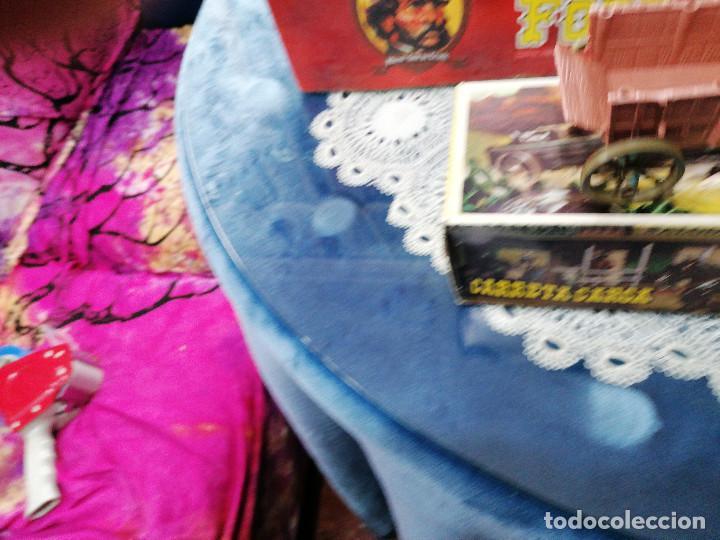 Figuras de Goma y PVC: COMANSI CARRETA DE CARGA CON SU CAJA ORIGINAL-AÑOS 70-80 - Foto 4 - 243151125