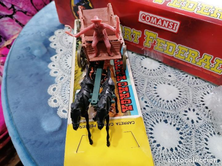 Figuras de Goma y PVC: COMANSI CARRETA DE CARGA CON SU CAJA ORIGINAL-AÑOS 70-80 - Foto 5 - 243151125