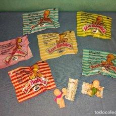 Figuras de Goma y PVC: LOS BABIES 6 SOBRES SIN ABRIR Y DOS SUELTOS AÑOS 90 DE KIOSKO. Lote 243155495