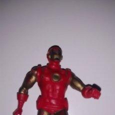 Figuras de Goma y PVC: FIGURA PVC IRON MAN COMICS SPAIN MARVEL MUÑECO COLECCIÓN SUPERHÉROES CÓMIC. Lote 243419230