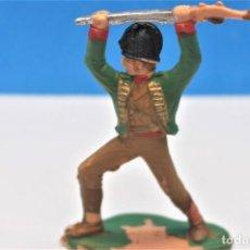 Figuras de Goma y PVC: ANTIGUA FIGURA EN PLÁSTICO DE REAMSA. SOLDADO ESPAÑOL. GUERRA DE LA INDEPENDENCIA. PAT - 231. Lote 243476545
