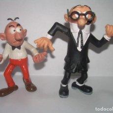 Figuras de Goma y PVC: ANTIGUOS PERSONAJES ...MORTADELO Y FILEMON.. Lote 243570845