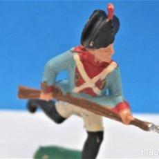Figurines en Caoutchouc et PVC: ANTIGUA FIGURA EN PLÁSTICO DE REAMSA. SOLDADO DE LA GUERRA DE LA INDEPENDENCIA. REF PAT - 230. Lote 243610810