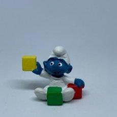 Figuras de Goma y PVC: PITUF0 - NIÑO - BEBE CON CUBOS - SCHLEICH - PEYO. Lote 243658645