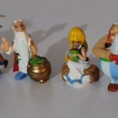 Figuras Kinder: ASTERIX Y OBELIX.- LOTE DE 10 FIGURAS KINDER SORPRESA. Lote 243667030