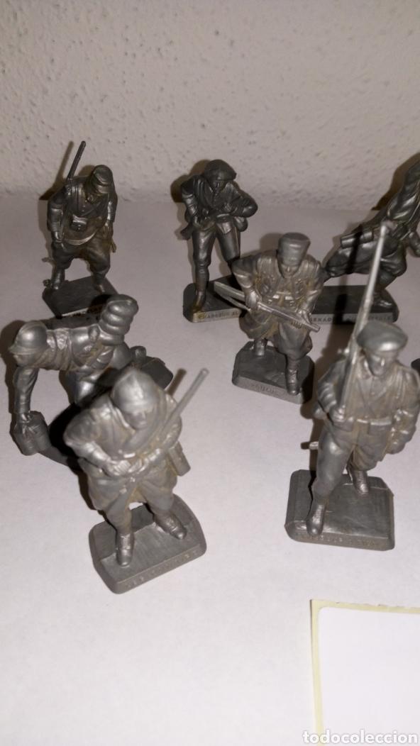 Figuras de Goma y PVC: Lote 12 soldado oficial mokarex Francia alguno puede tener pqña rotura - Foto 2 - 243682665