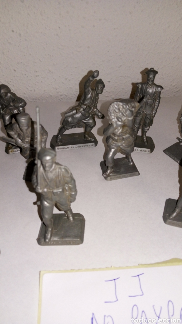 Figuras de Goma y PVC: Lote 12 soldado oficial mokarex Francia alguno puede tener pqña rotura - Foto 4 - 243682665