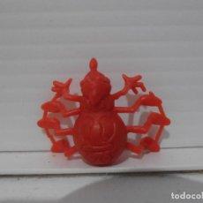 Figuras de Goma y PVC: FIGURA DUNKIN PHOSKITOS, ARAÑA TECLA ROJA, ABEJA MAYA. Lote 243766270