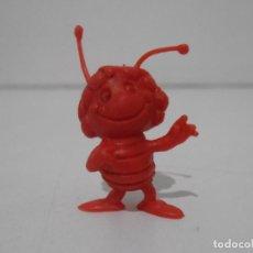 Figuras de Goma y PVC: FIGURA DUNKIN PHOSKITOS, MAYA ROJO, ABEJA MAYA. Lote 243766390