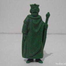 Figuras de Goma y PVC: FIGURA DUNKIN RUY PEQUEÑO CID DANONE REY FERNANDO VERDE. Lote 243768170