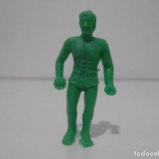 Figuras de Goma y PVC: FIGURA DUNKIN TARZAN VERDE. Lote 243768735