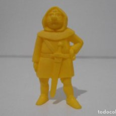 Figuras de Goma y PVC: FIGURA DUNKIN RUY PEQUEÑO CID DANONE LADRON AMARILLO. Lote 243768960