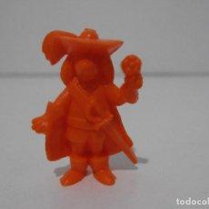 Figuras de Goma y PVC: FIGURA DUNKIN D´ARTACAN Y LOS TRES MOSQUEPERROS PHOSKITOS, AMIS NARANJA. Lote 243769730