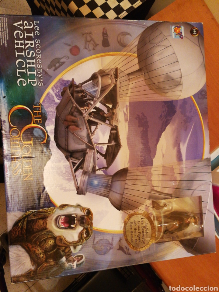 THE GOLDEN COMPASS GLOBO AEREO MAGIC CARS. ENVIO 8.90 NUEVO SIN ABRIR (Juguetes - Figuras de Goma y Pvc - Otras)