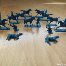 Figuras de Goma y PVC: FIGURAS MONTAPLEX CABALLERIA DE NAPOLEÓN. Lote 243844280