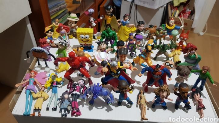 LOTE DE 50 FIGURAS PVC (Juguetes - Figuras de Goma y Pvc - Bully)