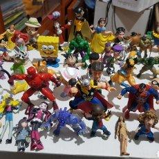 Figuras de Goma y PVC: LOTE DE 50 FIGURAS PVC. Lote 243866550