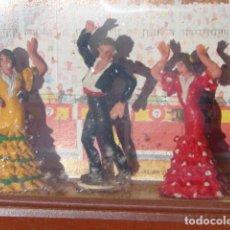 Figuras de Goma y PVC: BAILADORES DE FLAMENCO EN EL TABLAO - TEIXIDOR. Lote 243890780