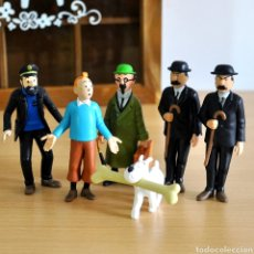 Figuras de Goma y PVC: LOTE FIGURAS DE TINTIN. Lote 243911720