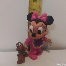 Figuras de Goma y PVC: FIGURA ANTIGUA DE PVC BABY MINIE CÓMIC SPAIN. Lote 243922320