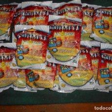 Figuras de Goma y PVC: LOTE 20 SOBRES NEORGANIC GORMITI SIN ABRIR. Lote 244010665