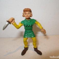 Figuras de Goma y PVC: COMICS SPAIN CRISPIN CAPITAN TRUENO,BARATO VER DESCRIPCION. Lote 244190130