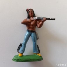 Figuras de Goma y PVC: FIGURA INDIO STARLUX. Lote 244202435