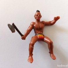 Figuras de Goma y PVC: FIGURA INDIO HURÓN STARLUX. Lote 244202640
