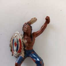 Figuras de Goma y PVC: FIGURA INDIO GOMA TEIXIDO. Lote 244204805