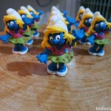 Figuras de Goma y PVC: PITUFOS. 200 PITUFINAS.. Lote 244559460