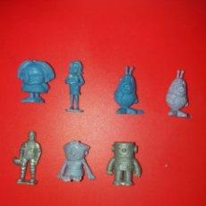 Figuras de Borracha e PVC: CONJUNTO FIGURAS DUNKIN ESPACIAL HELADOS RAJÁ. Lote 244572905