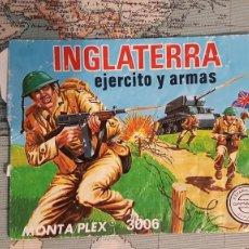 Figuras de Goma y PVC: MONTAPLEX INGLATERRA. Lote 244597060
