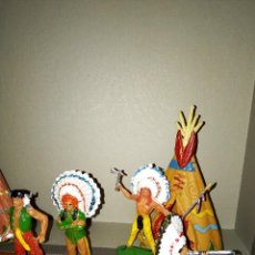 Figuras de Goma y PVC: INDIOS JECSAN. Lote 244697250