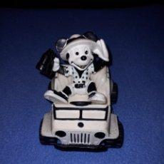 Figuras de Goma y PVC: FIGURA GOMA PVC MICKIE MOUSE EN JEEP AÑO 1988. MUY DIFÍCIL. Lote 244719365
