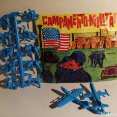 Figuras de Goma y PVC: SOBRE ABIERTO TIPO MONTA PLEX CAMPAMENTO MILITAR. ALFREDO LOSADA VER FOTOGRAFIAS DE CONTENIDO.. Lote 244741830